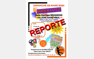 REPORT DU SUPER LOTO